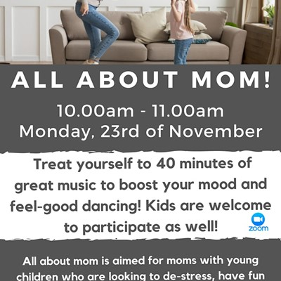 Live Online Dance Class - Mums living in Croydon with children under 5